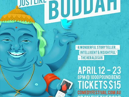 Win a Double Pass to see Anthony Jeannot – Just Like Buddha at MICF 2017