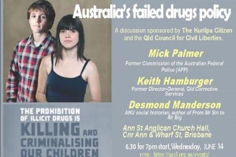 Australia's Failed Drugs Policy (Brisbane)